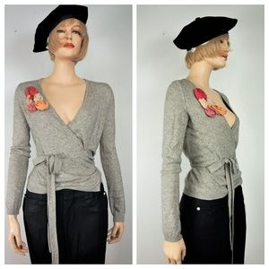 Sweaters - Vng SILK KNIT Wrap Sweater Pin Up 40's Style